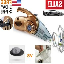 4 In 1 LED Car High Power Wet And Dry Vacuum Cleaner Inflata