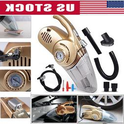 4 In 1 LED High Power Wet And Dry Car Vacuum Cleaner Inflata