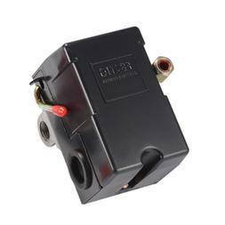 4 Ports Air Compressor Pressure Switch Regulator Gauges with