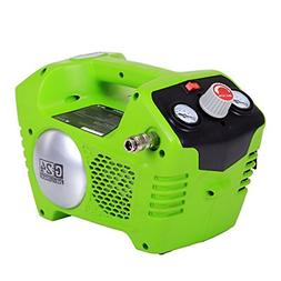 Greenworks 41572 24V Cordless Lithium-Ion 1/2 Gallon Air Com