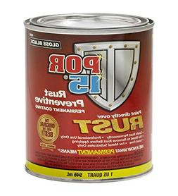 POR-15 45004 Gloss black Rust Preventive Paint - 1 Quart