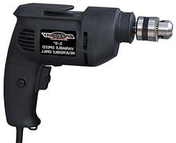 """Speedway 45137 Variable Speed Reversible Drill, 3/8"""""""