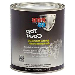 POR-15 45804 Gloss Black Top Coat - 1 quart
