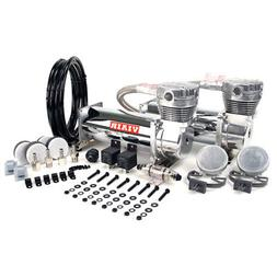 VIAIR 480C 200 PSI Dual Performance Value Pack -Chrome
