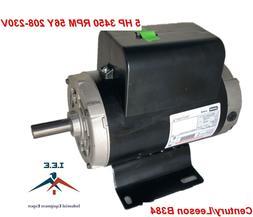 54421193 Ingersoll Rand B384 Century 5 HP Compressor Motor E