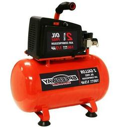 Speedway 7517 0.5 HP 2-Gallon Hotdog style Oil Free Air comp