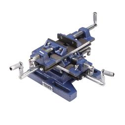 """Central Forge 5"""" Rugged Cast Iron Drill Press Milling Vise"""