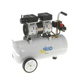 Quipall 1 HP 6.3 Gal. Oil-Free Wheelbarrow Air Compressor 6-