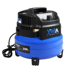 6 Gal. Portable Electric 150 psi Oil-free Pancake Air Compre