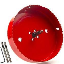 6 inch 150 mm Hole Saw Blade For Cornhole Boards Corn Hole D