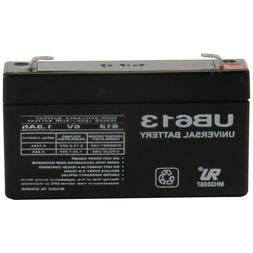 6 Volt - 1.2Ah / 1.3 Ah - F1 Terminal  Rechargeable Battery