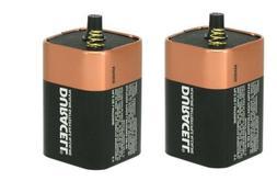 DURACELL 6V Alkaline Lantern Battery Spring Term   - NEW™