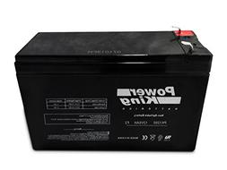 12V 7.2Ah SLA Rechargeable Battery for Security Systems/ Rep