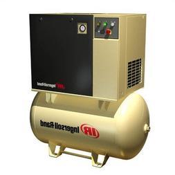 15 HP 125 PSI 55 CFM, 120 Gallon, 3 Phase Rotary Screw Air C