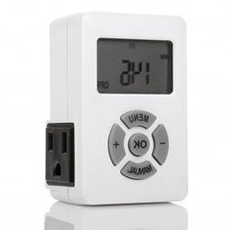 Otimo 7 Day Indoor Digital Programmable Timer with Countdown