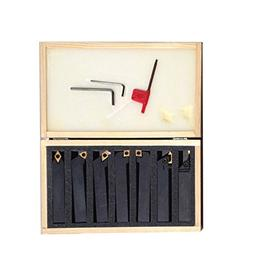 """Bolton Tools 7 PCS 1/2"""" Insert Tool Holders With Carbide Ins"""