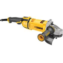 DEWALT 7 in. 8,500 RPM 4.9 HP Angle Grinder with Lock-On DWE