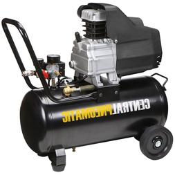 8 gal. 2 HP 125 PSI Oil Lube Air Compressor - Central Pneuma