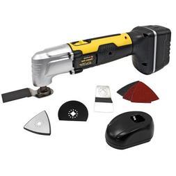 Tradespro 836861 9.6-volt Cordless Oscillating Tool Kit, 10-
