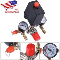 90-120 PSI Air Compressor Pressure Switch Control Valve Mani