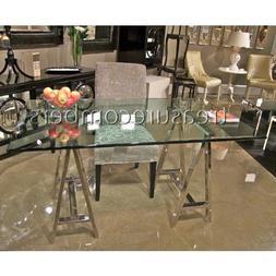 Architect's Desk - Mason Glass Top Desk