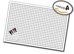 "Battle Grid Game Mat - 36"" x 24"" - 1 Inch Role Playing DnD M"