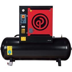 - Chicago Pneumatic Quiet Rotary Screw Air Compressor - 15 H