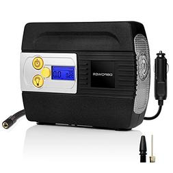 DBPOWER 12V DC Tire Inflator with Digital LCD Display and LE