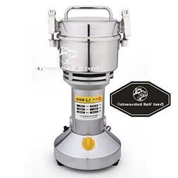 300g Electric Grain Mill Spice Herb Grinder Pulverizer super