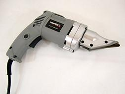 Heavy-Duty Electric Metal Shear - Swivel Head - Cuts 14 Ga S