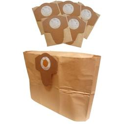 Kubota 6-pack Disposable Replacement Dust Filter Bags 8 Gall
