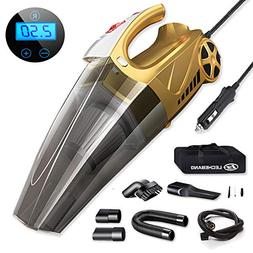 LB LECHEBANG Air Compressor Car Cleaner Hand Held Wet Dry DC