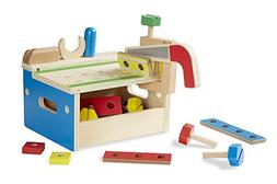 Melissa & Doug Hammer and Saw Tool Bench - Wooden Building S