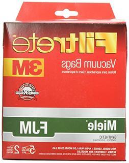 Filtrete 3M Miele FJM Synthetic Vacuum Bag - 5 bags + 2 filt