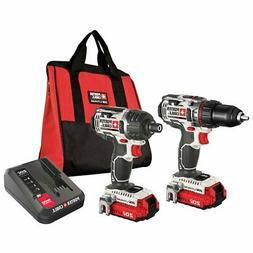 Porter-Cable PCCK602L2 20V MAX Cordless Hex Lithium-Ion 2-To