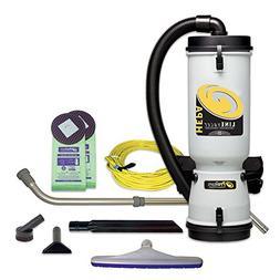 ProTeam Commercial Backpack Vacuum Cleaner, LineVacer HEPA V