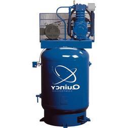 - Quincy QT-10 Splash Lubricated Reciprocating Air Compresso