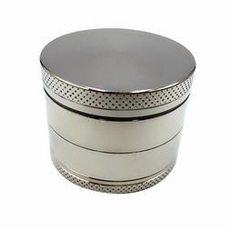 Ultimate Herb Grinder 2 Inch 4 Piece Zinc Magnetic Top. Toba