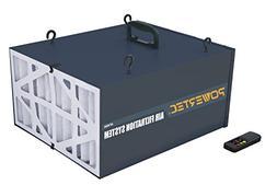 POWERTEC AF4000 3 SPD Air Filtration System, 300/350/400-CFM