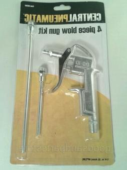 4 Piece Air Blow Gun Tool Set Pistol Trigger Compressor Dust