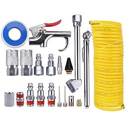 Wynnsky 20 Piece Air Compressor Accessory Kit, Nylon Hose /B
