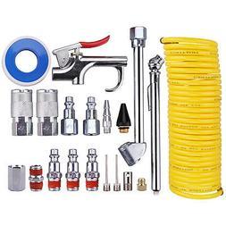 Wynnsky 20 Piece Air Compressor Accessory Kit, Nylon Hose /B