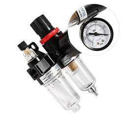 SODIAL Air Compressor AFC2000 oil Water Separator Regulator