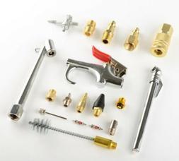 New 18pc Air Tool Compressor Blow Gun Chuck Pneumatic Access
