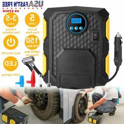 Air Compressor Heavy Duty Digital Tire Inflator Auto Shut of