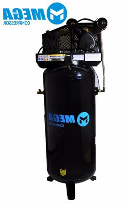 MegaPower Air Compressor MP-6060V, 60 Gallon, 3HP, 1 Phase,
