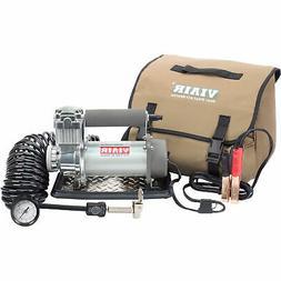 Air Compressor; Portable; 150 PSI Max; Dual Battery Clamps