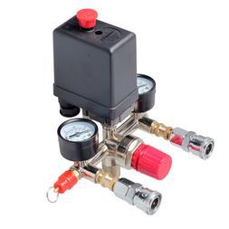 Air Compressor Pressure Control Switch Valve Manifold Regula