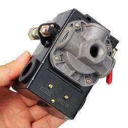 Air Compressor Pressure Switch Control Valve 120PSI 4 Port U