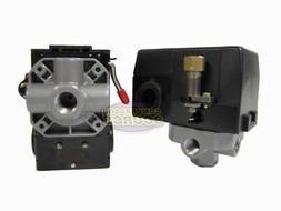 Heavy Duty 26 Amp Air Compressor Pressure Switch Control Val
